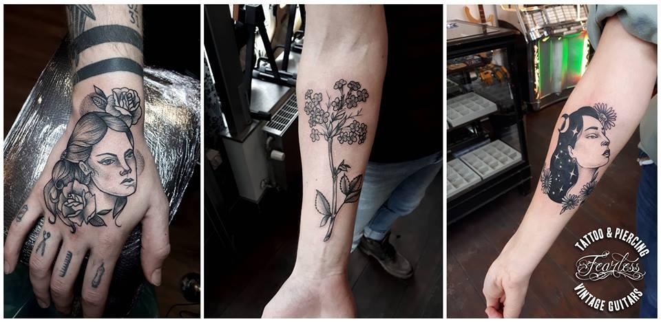 Fearless Tattoo, Piercing & Vintage Guitar shop