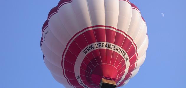 Ballonvaren boven Nederland met Dreamflights!