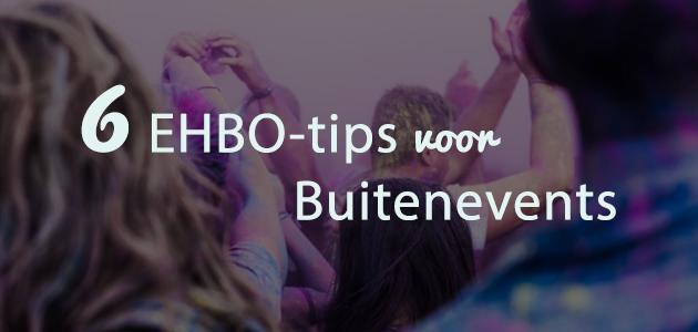 6 EHBO-tips voor buitenevents