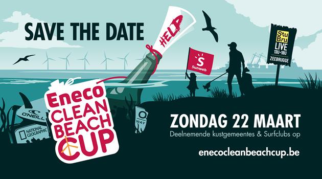 Fast Forward Events klaar voor de 11e editie van Eneco Clean Beach Cup
