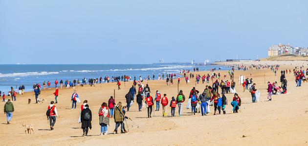De grote strandschoonmaak 2019 : straffe cijfers voor Fast Forward Events