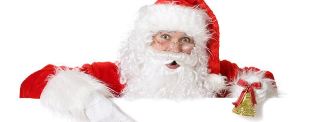 De Kerstman komt op bezoek!