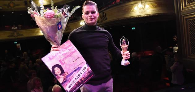 Robert van Hemert wint Leids Festival van het Levenslied