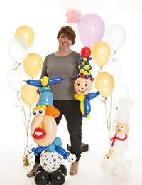 Ballonnen en meer vliegt de lucht in!