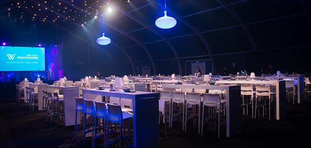 100 jaar Wijckmans in imposante feestaccommodatie van Veldeman