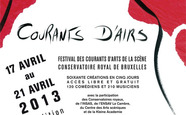 Podiumkunstenfestival Courants d'Airs palmt Brussel in