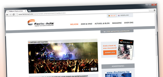 Vernieuwde website Facts on Acts online