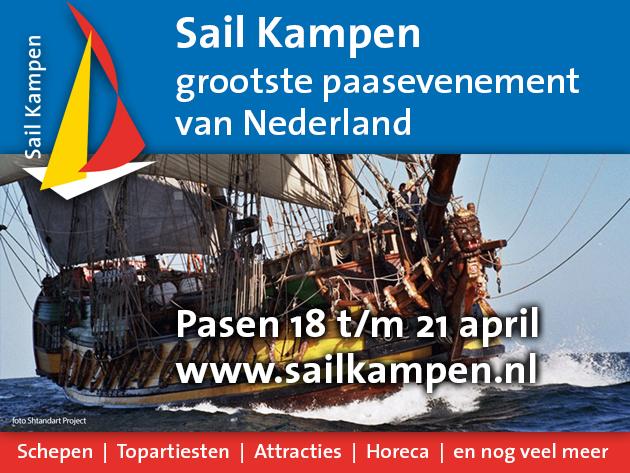 Sail Kampen grootste paasevenement van Kampen