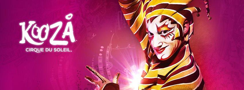 Show KOOZA van Cirque du Soleil voor het eerst in Nederland