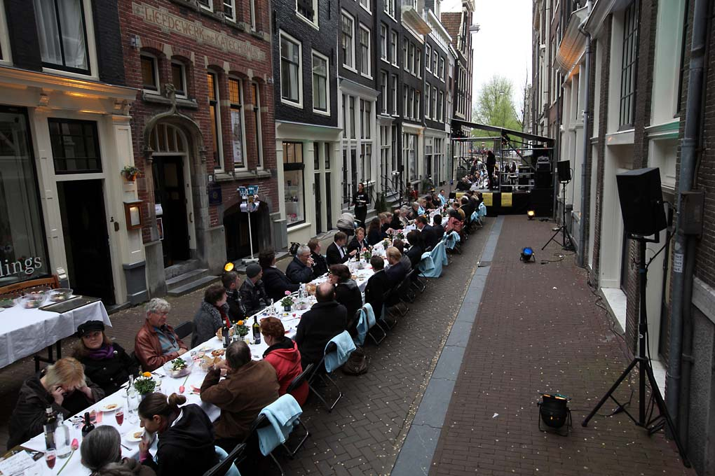 4 en 5 mei in Amsterdam: herdenken en vieren door de hele stad