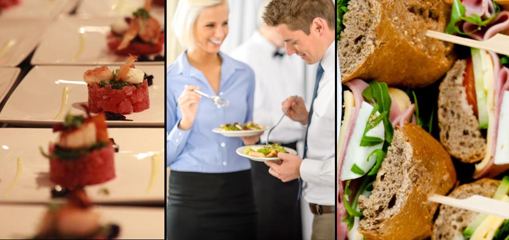 Advies van professionele partners: catering