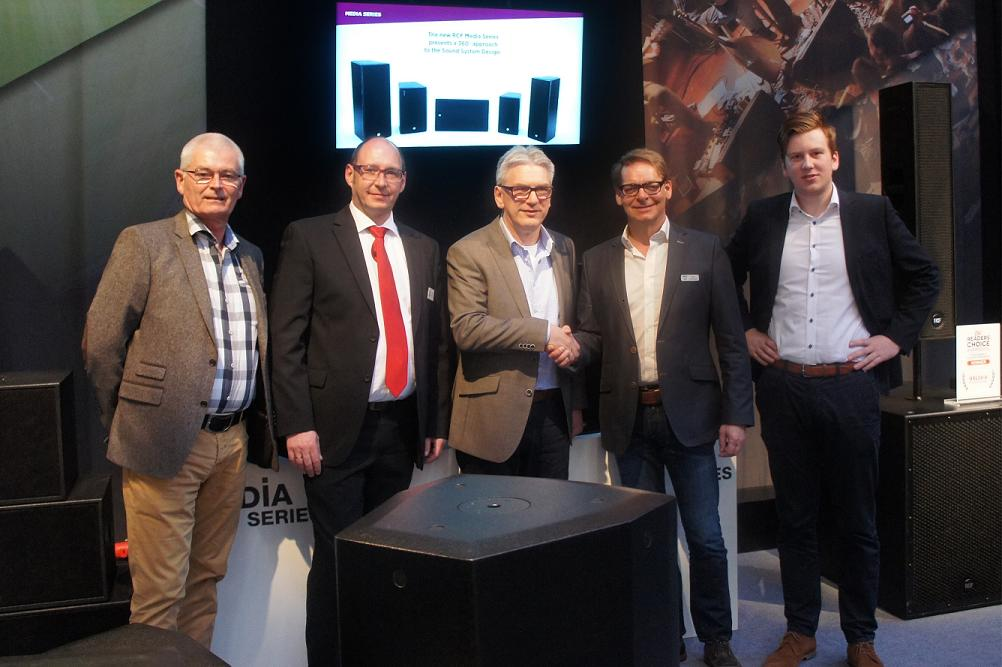 Output BV benoemd als RCF's exclusive partner voor Commercial Audio & Install Sound Products in Nederland.